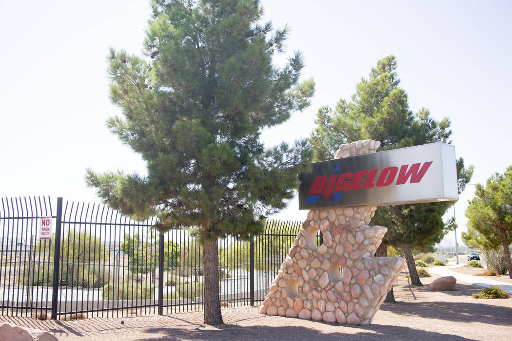 Bigelow Aerospace in North Las Vegas on Thursday, Sept. 12, 2019. (Elizabeth Page Brumley/Las V ...
