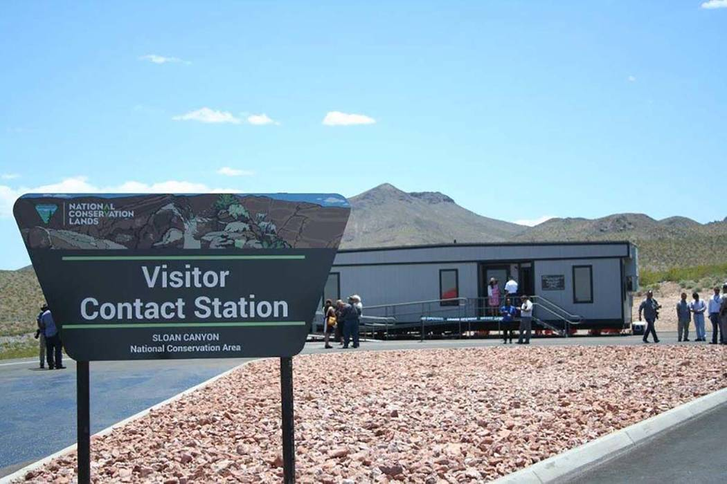 Sloan Canyon Visitor Contact Station south of Henderson. (Bureau of Land Management)