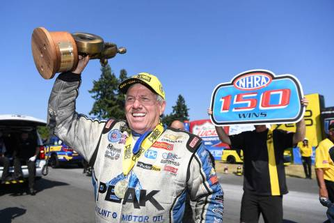 When John Force won his milestone 150th Funny Car victory in Seattle this year, he said at firs ...