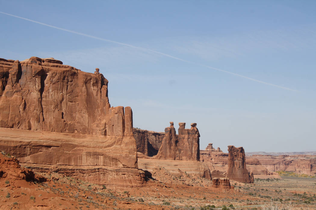 In addition to more than 2,000 arches, the park is home to thousands of fabulous formations, in ...