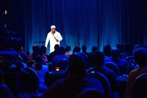Eddie Griffin in a scene from his latest Showtime stand-up special, recorded in Las Vegas and s ...
