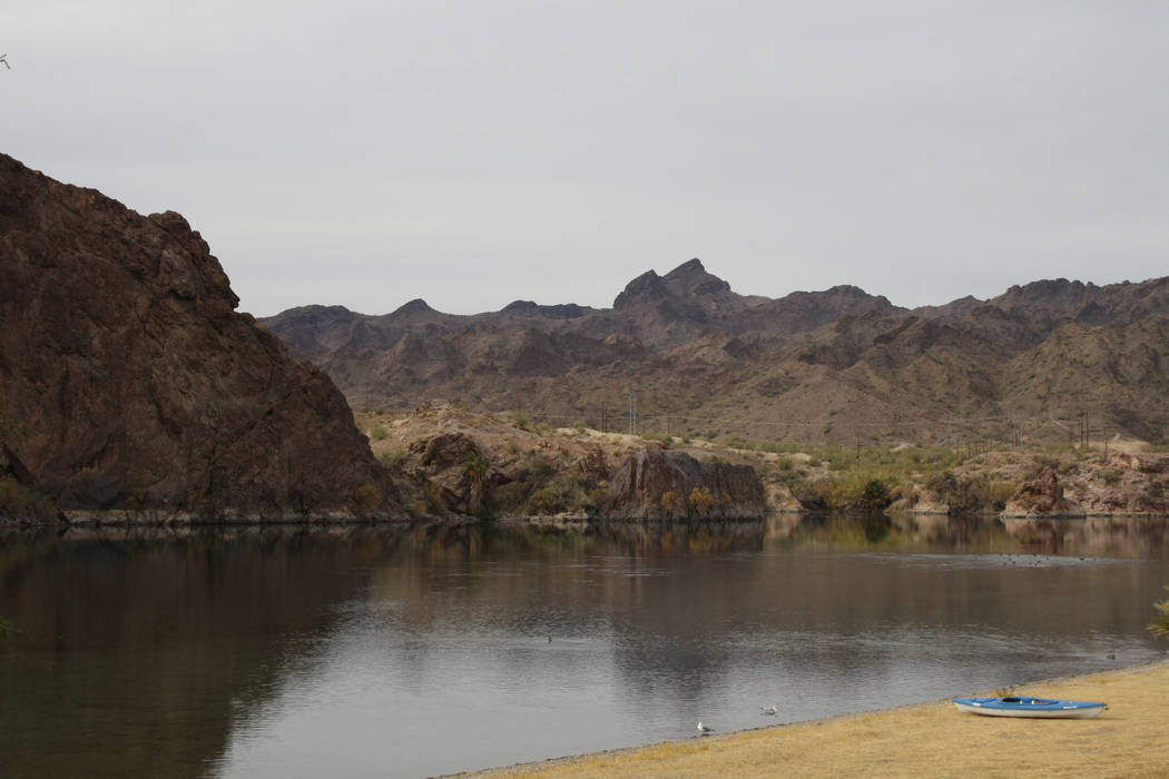 Buckskin Mountain State Park is a popular place to access the Colorado River. (Deborah Wall/Las ...