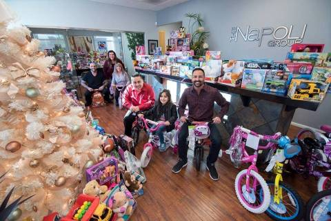 Frank Napoli II with Berkshire Hathaway Home Services fills his classic cars with toys for need ...