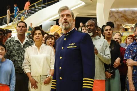 "Hugh Laurie stars in ""Avenue 5."" (Alex Bailey/HBO)"
