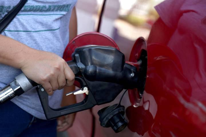AAA Nevada spokesman Sergio Avila said gas prices are averaging $2.98 a gallon in Clark County ...
