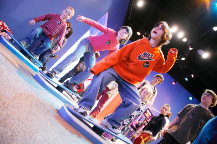 """""""Run! Jump! Fly!"""" (Discovery Children's Museum)"""