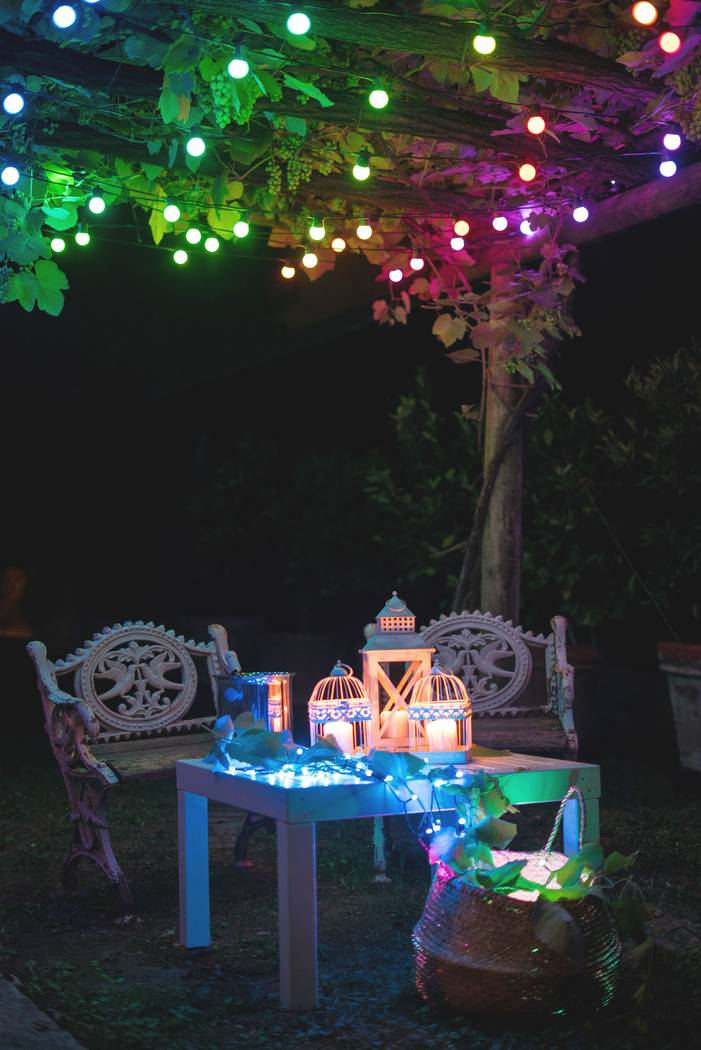 Twinkly customizable LED string lights (Courtesy Twinkly)