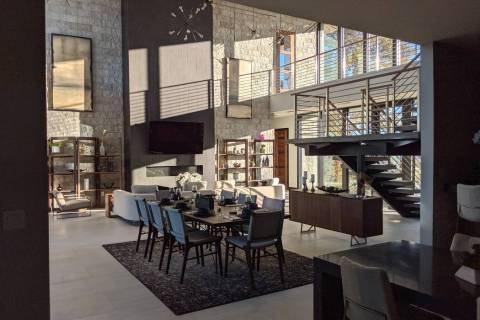 The two-story home measures 4,700 square feet. (Element Building Co.)