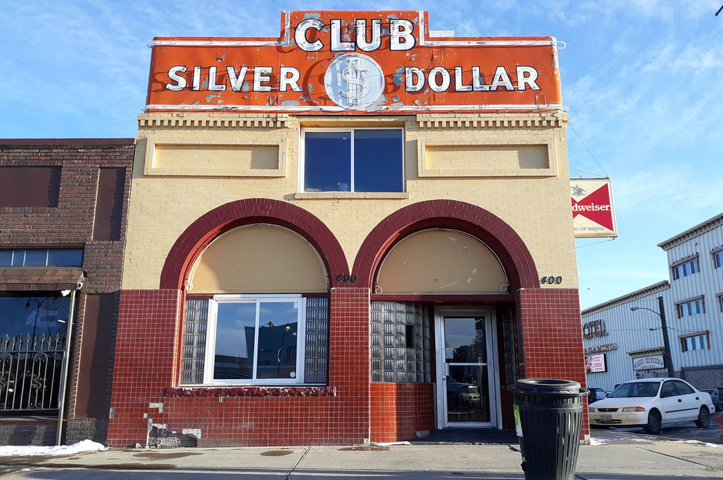 This undated photo shows the Silver Dollar Club, an iconic bar dating to the Prohibition era in ...