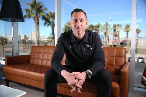 UNLV football head coach Marcus Arroyo received word on Monday, Jan. 27, 2020, that Jalen Dixon ...