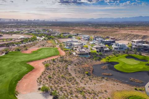 Summerlin was named the Master-Planned Community of the Year as the Gold Award winner at The Na ...