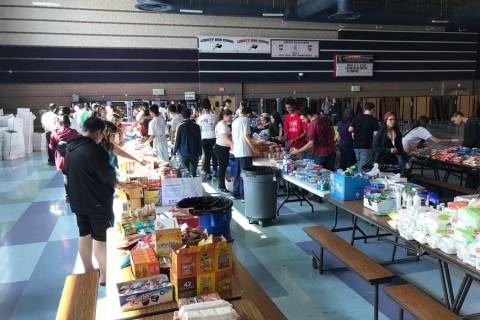The sixth annual Munchies 4 the Military is under way. This year, the goal is to assemble 500 c ...