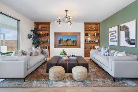 Pardee Homes introduces Highline, nestled in the foothills of Henderson just off Gibson Road an ...