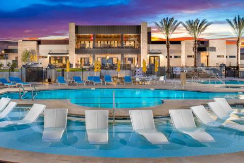 Trilogy in Summerlin is an age-qualified community that offers resort-style amenities. (Trilogy ...