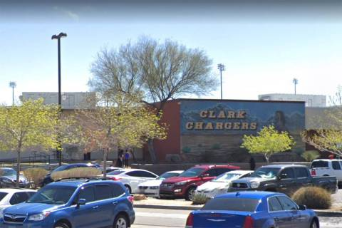 Clark High School (Google screenshot)