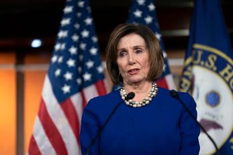 Speaker of the House Nancy Pelosi, D-Calif. (AP Photo/J. Scott Applewhite)