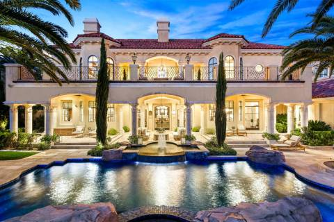 On Feb. 15, DeCaro Auctions International will auction a Tournament Hills two-story estate with ...