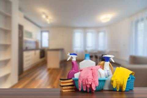 Getty Images Warmer weather brings motivation for spring cleaning.
