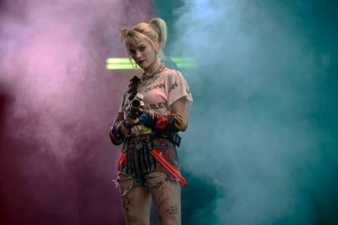 """Margot Robbie as Harley Quinn in """"Birds of Prey."""" (Warner Bros.)"""