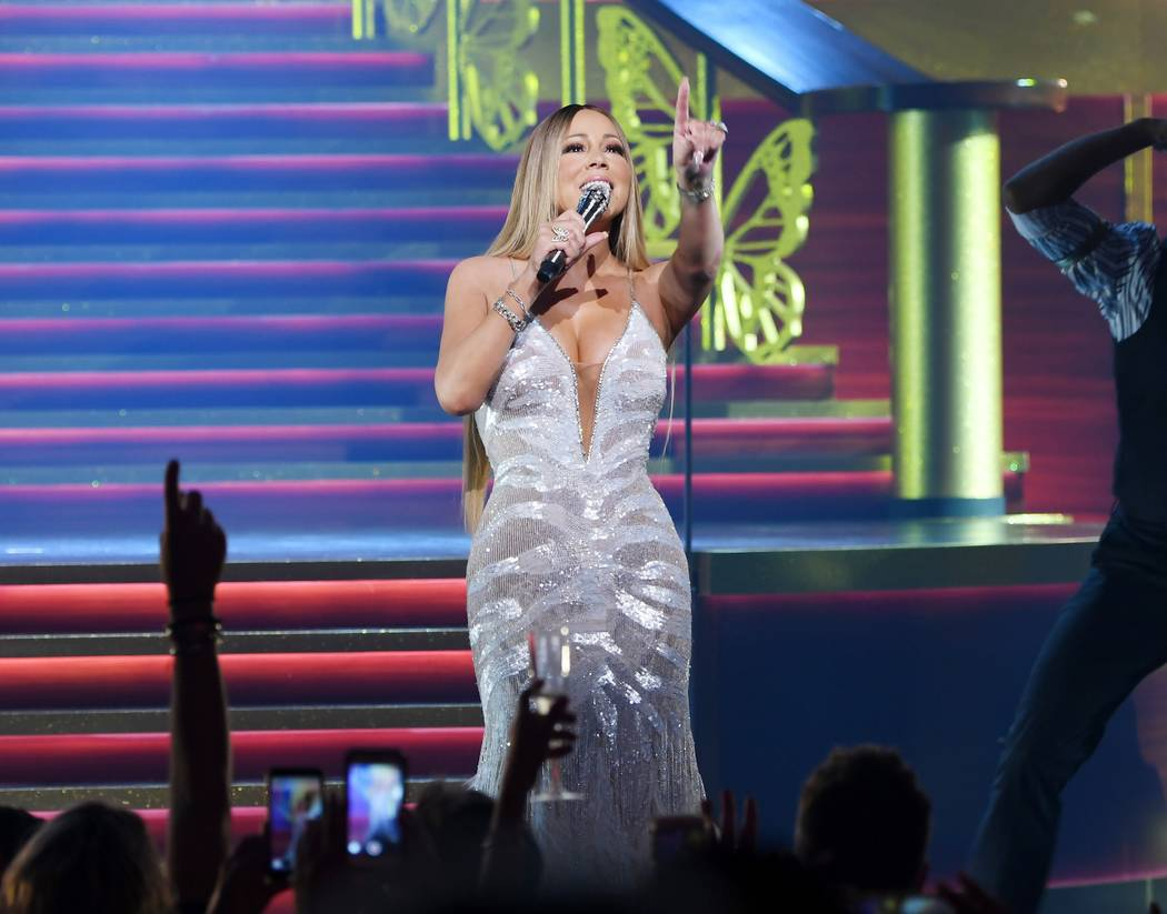 Mariah Carey performs on July 7, 2018. (Denise Truscello)