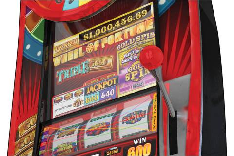 Wheel of Fortune Triple Gold Gold Spin Megatower (International Game Technology)