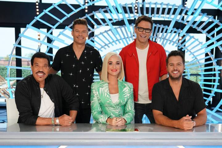 AMERICAN IDOL - Music industry legends and all-star judges Luke Bryan, Katy Perry and Lionel Ri ...