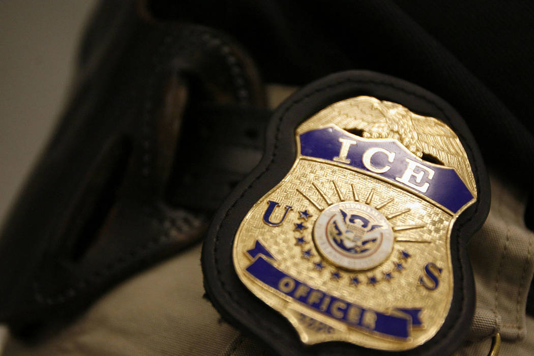 U.S. Immigration and Customs Enforcement (AP)