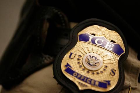 U.S. Immigration and Customs Enforcement (AP)
