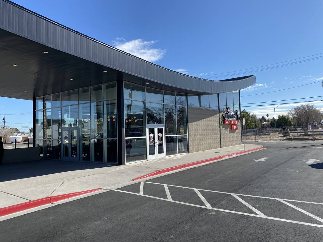 The new Capriotti's is shown at the Swoop Building at the Huntridge Shopping Center, 1122 S. Ma ...