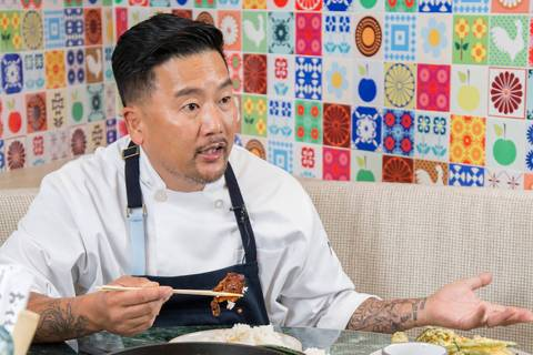 Chef Roy Choi's restaurant Best Friend opened in 2018 at Park MGM in Las Vegas. (Jenn Smulo)