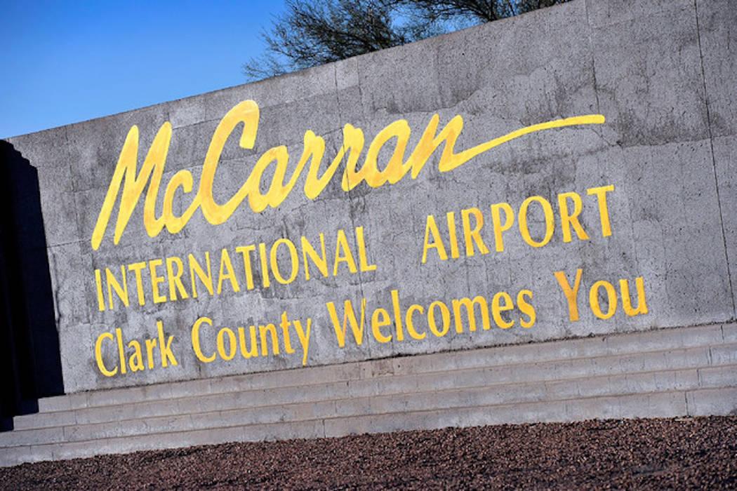 McCarran International Airport in Las Vegas (Las Vegas Review-Journal)