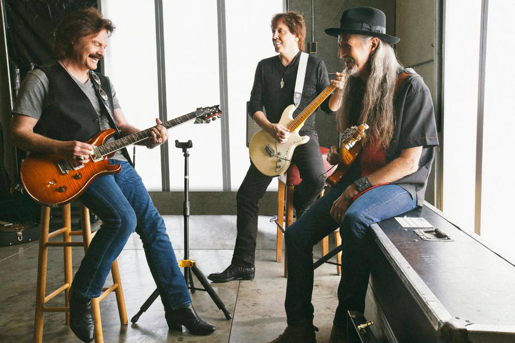Tom Johnston, left, and the Doobie Brothers have canceled their Friday, Saturday and Tuesday ni ...