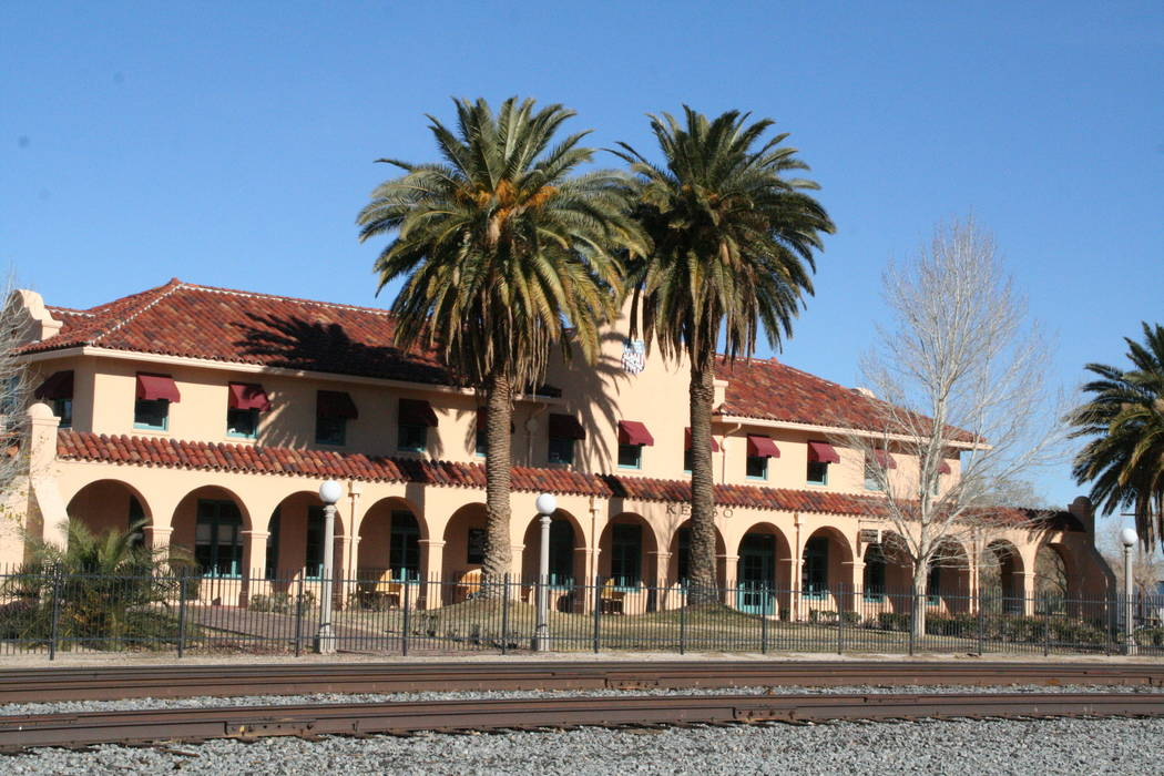 Kelso Depot in the Mojave National Preserve now serves as the park's main visitor center. Muc ...