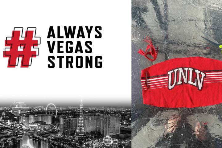 UNLV Athletics will create and donate at least 3,000 cloth masks to UMC of Southern Nevada for ...