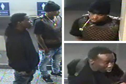 Police are searching for two men in connection to a robbery that occurred Tuesday, March 17, 20 ...