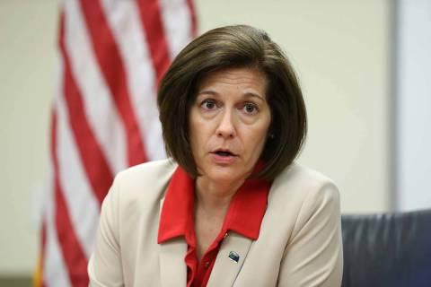 U.S. Sen. Catherine Cortez-Masto, D-Nev. (Las Vegas Review-Journal)
