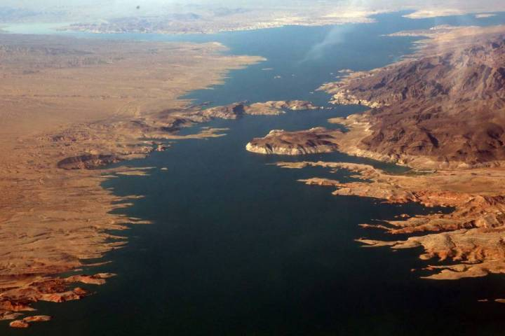 Lake Mead Recreation Area near Arizona. (Bizuayehu Tesfaye/Las Vegas Review-Journal) @bizutesfaye