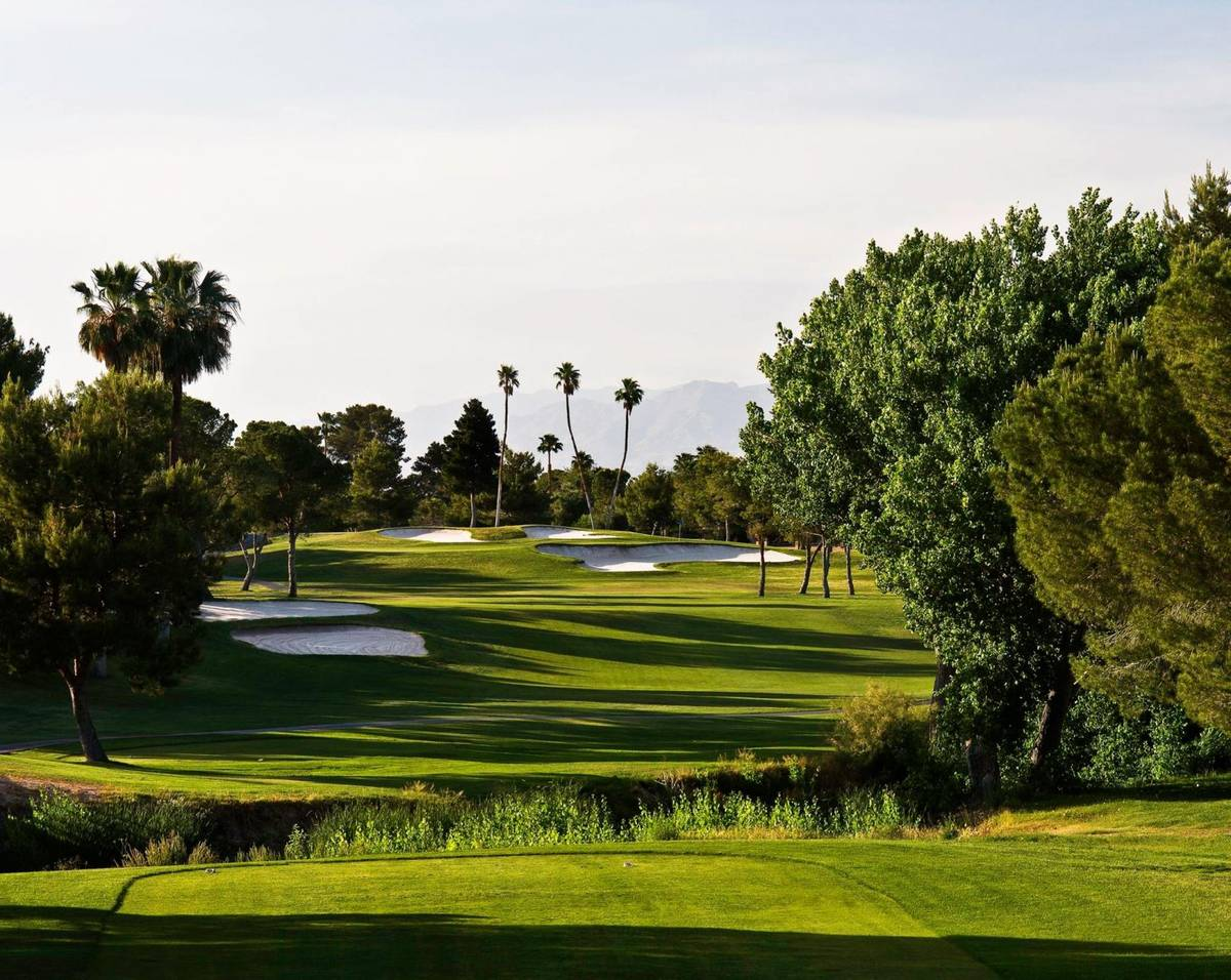 Golfers will receive a free roll of toilet paper at Las Vegas National as the course and others ...