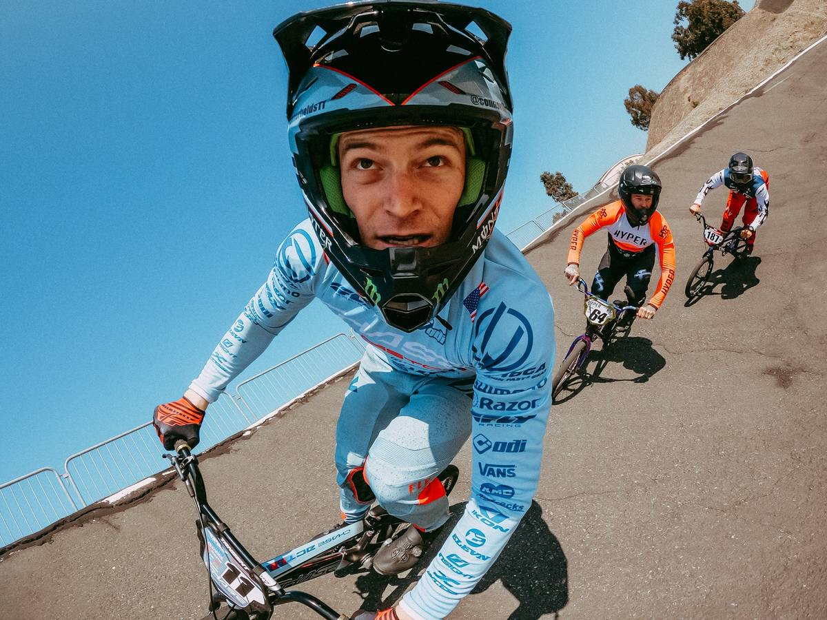 Las Vegan and gold medal BMX rider Connor Fields. (Connor Fields)