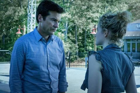 """Jason Bateman and Julia Garner in the drama series """"Ozark,"""" which returns this weeken ..."""