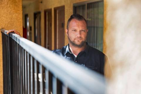 Charles Moorehead has been served a seven-day eviction notice from Siegel Suites Tropicana whil ...