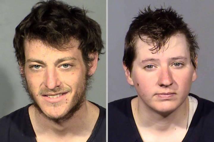 Jacob Berkovitz, left, and Tonya Dillard (Las Vegas Metropolitan Police Department)