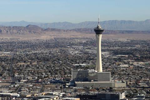 Las Vegas is expected to have its first 80-degree day of the year on Wednesday, April 1, 2020, ...