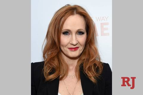 "FILE - This Dec. 11, 2019 file photo shows J.K. Rowling, author of the ""Harry Potter"" ..."