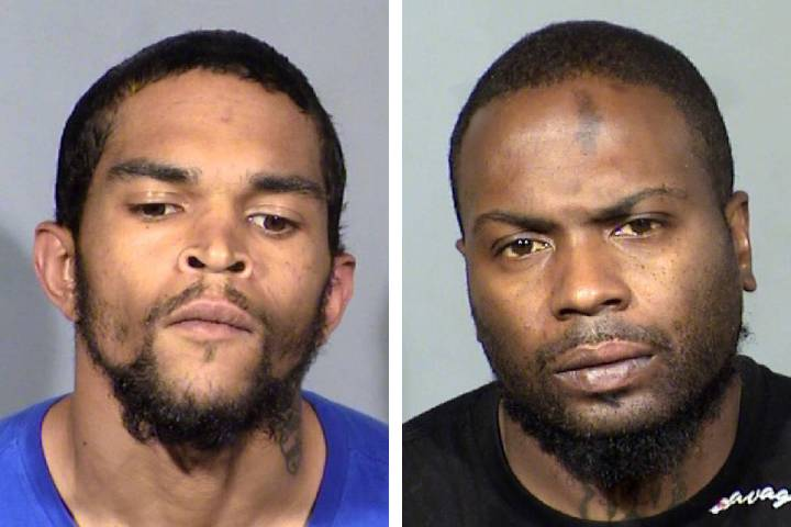 Marcus Woodson, left, and Willie Wells (Las Vegas Metropolitan Police Department)