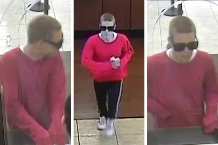 Police are looking for this person in connection to a robbery that occurred Wednesday, March 11 ...