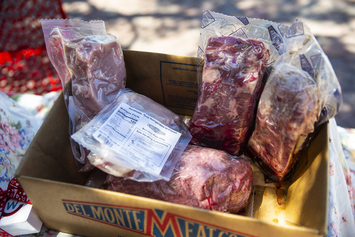 Different cuts of pork from Chef's Warehouse being offered to the public online and at the Down ...