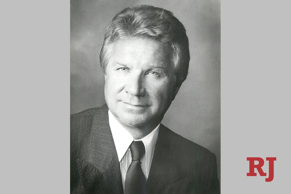 This 1994 file photo shows Horst Dziura. (Las Vegas Review-Journal, File)