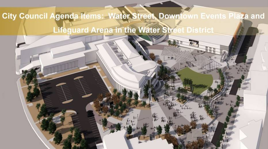 A rendering of the events plaza improvements. (City of Henderson)
