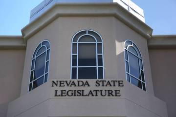 The Nevada Legislature (David Guzman/Las Vegas Review-Journal)
